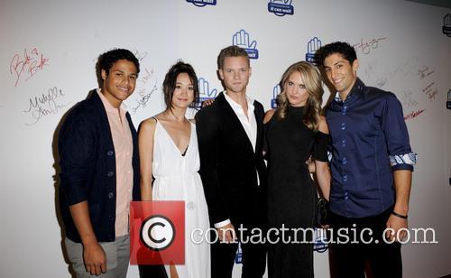 Ciara, Andrew Gray, Christina Masterson, Cameron Jebo and Azim Rizk