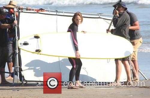 Helen Hunt on Location