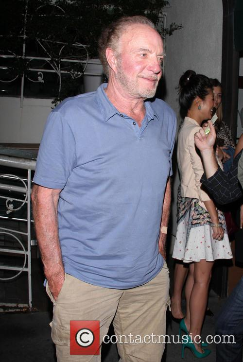 James Caan leaves Madeo's restaurant in Beverly Hills