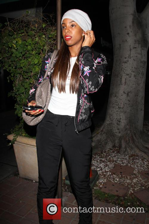 Kelly Rowland seemed in good spirits as she...