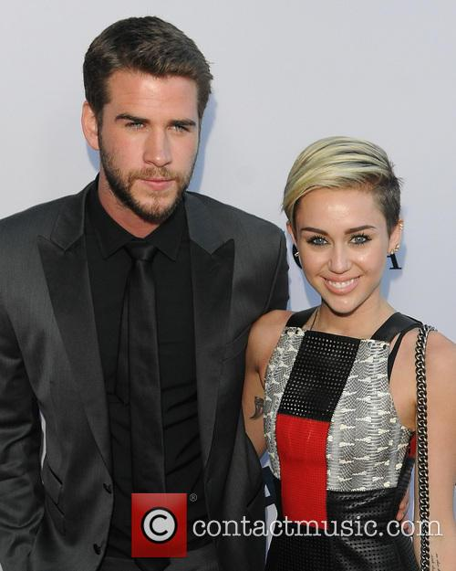 Liam Hemsworth and Miley Cyrus 11