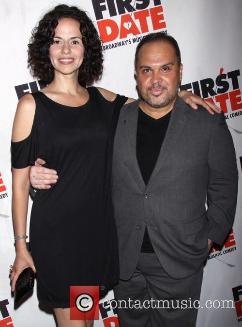 Mandy Gonzalez and Eliseo Roman 2