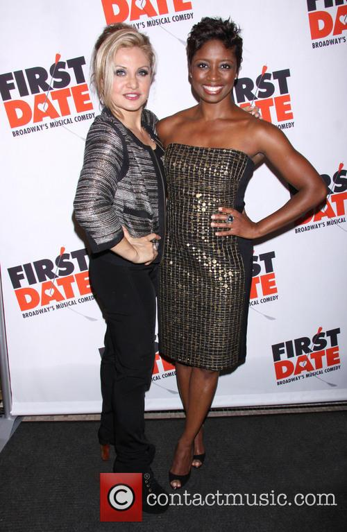 orfeh montego glover first date opening night arrivals 3805784