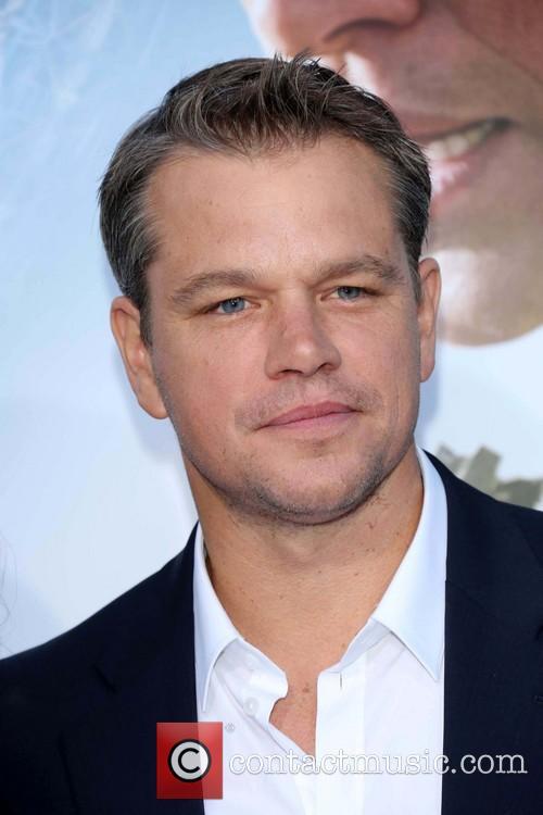 Matt Damon, Elysium Premiere