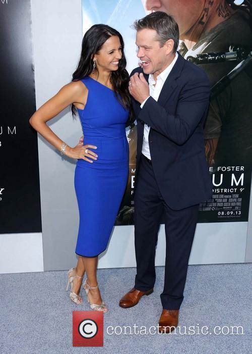 Matt Damon and Luciana Barroso 3
