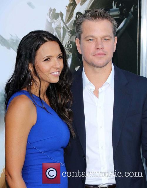 Matt Damon and Luciana Barroso 5