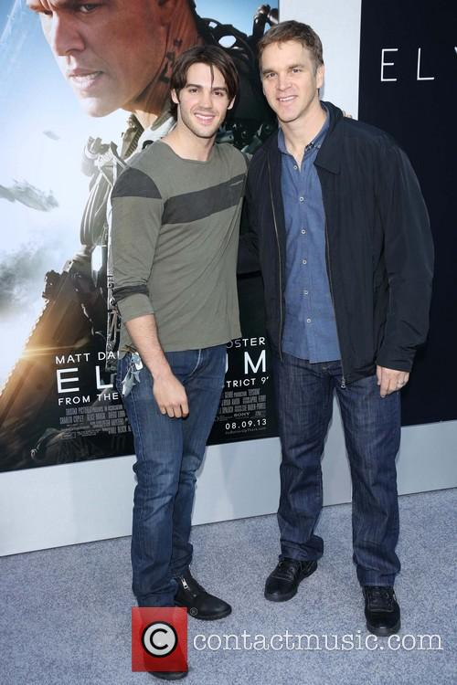 Steven R. Mcqueen and Luc Robitaille 1