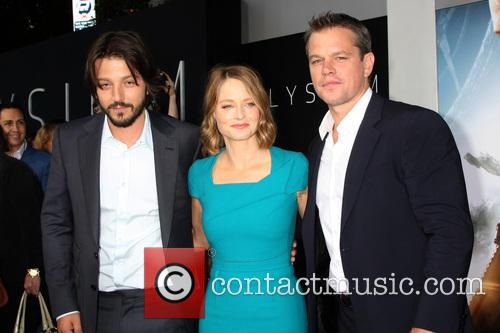 Diego Luna, Jodie Foster and Matt Damon 7