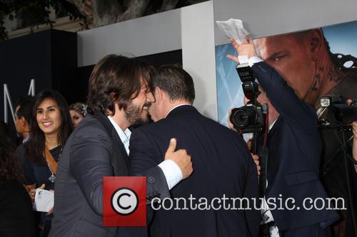 Diego Luna and Matt Damon 3