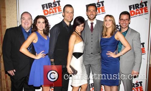 Blake Hammond, Kate Loprest, Bryce Ryness, Krysta Rodriguez, Zachary Levi, Sara Chase and Kristoffer Cusick 3