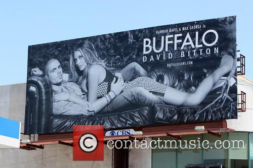 Hannah Davis and Max Goerge Billboard