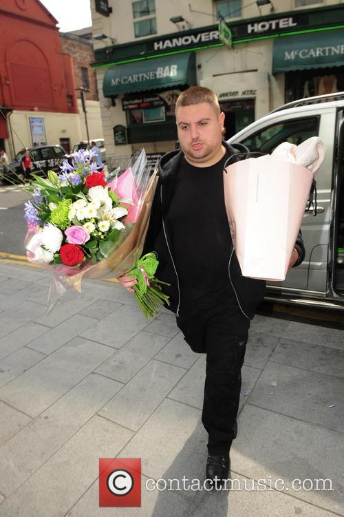 Helen Flanagan gets flowers for her birthday