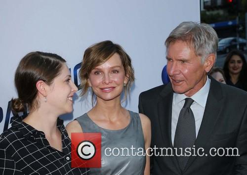Calista Flockhart, Harrison Ford and Daughter 9