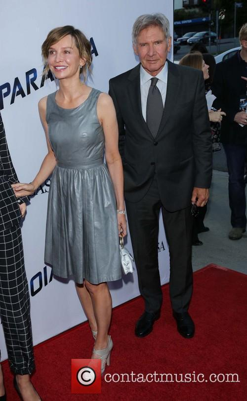 Calista Flockhart and Harrison Ford 4