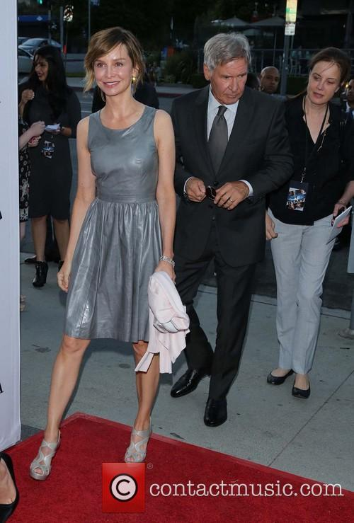 Calista Flockhart and Harrison Ford 7