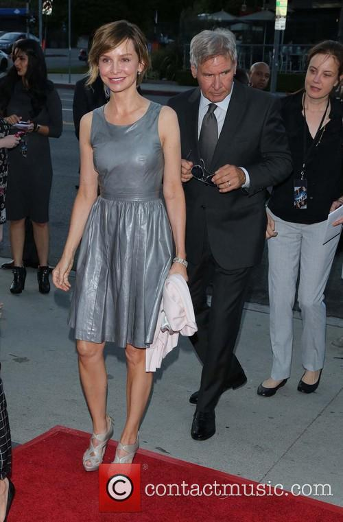 Calista Flockhart and Harrison Ford 10