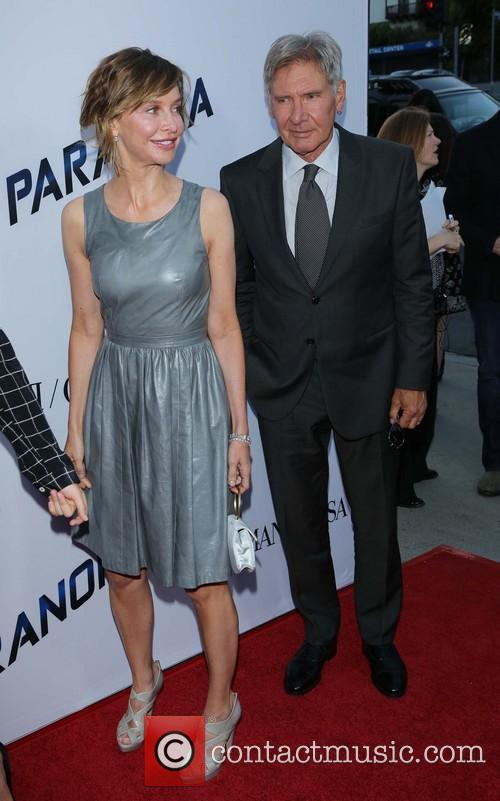Calista Flockhart and Harrison Ford 11