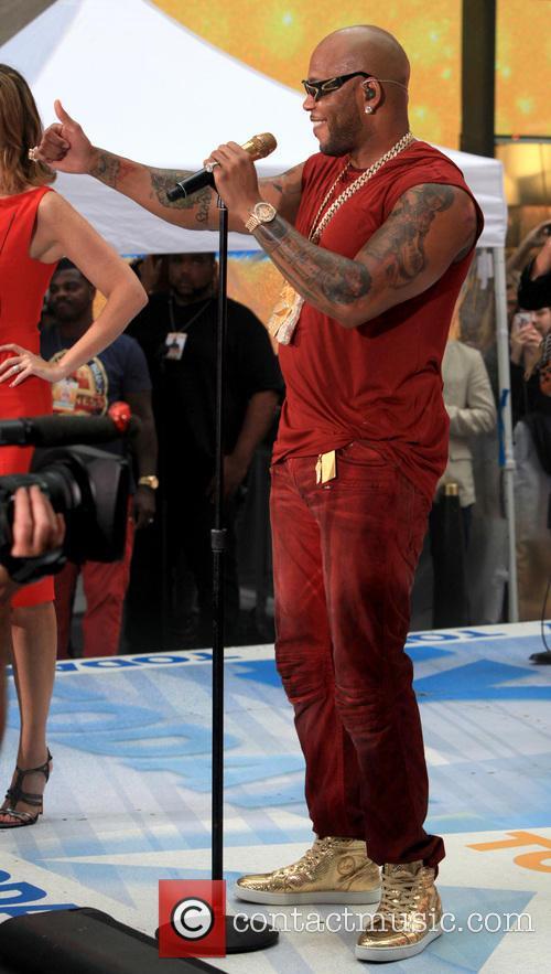 Flo Rida and Tramar Lacel Dillard 8