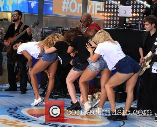 Flo Rida and Natalie La Rose perform on...