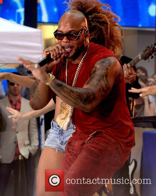 Flo Rida and Tramar Lacel Dillard 21