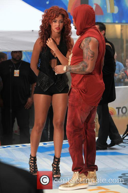 Flo Rida, Tramar Lacel Dillard and Natalie La Rose