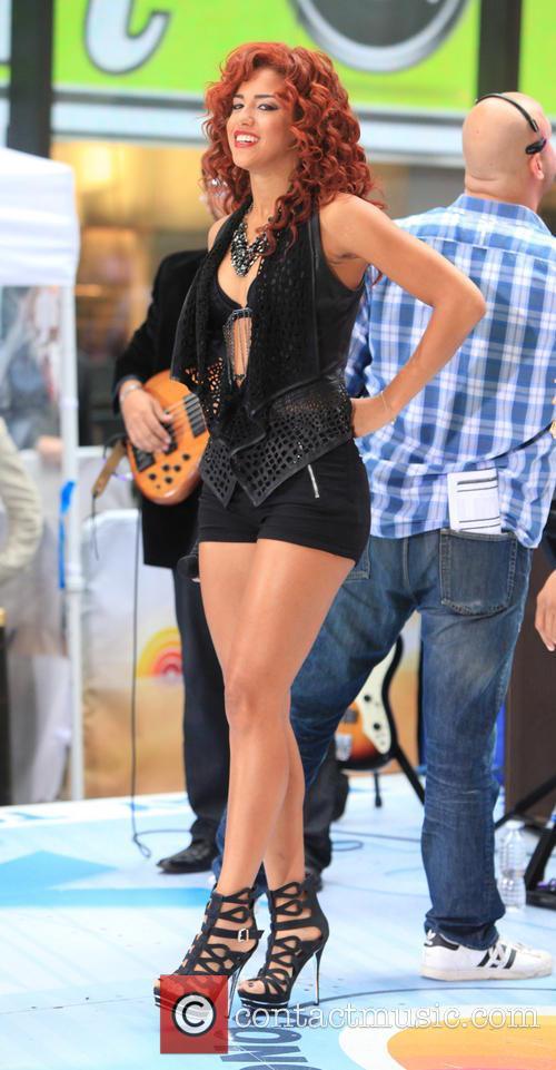Flo Rida, Natalie La Rose, NBC Studio One A, Rockefeller Center
