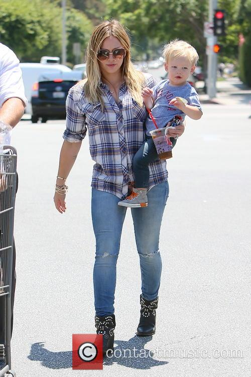 Hilary Duff and Luca Duff 2