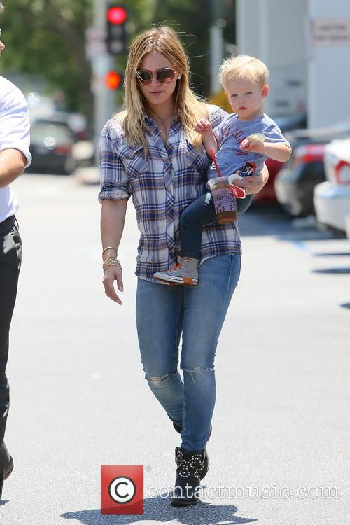 Hilary Duff and Luca Duff 6