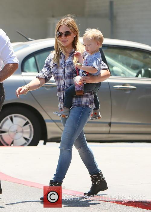 Hilary Duff and Luca Duff 7