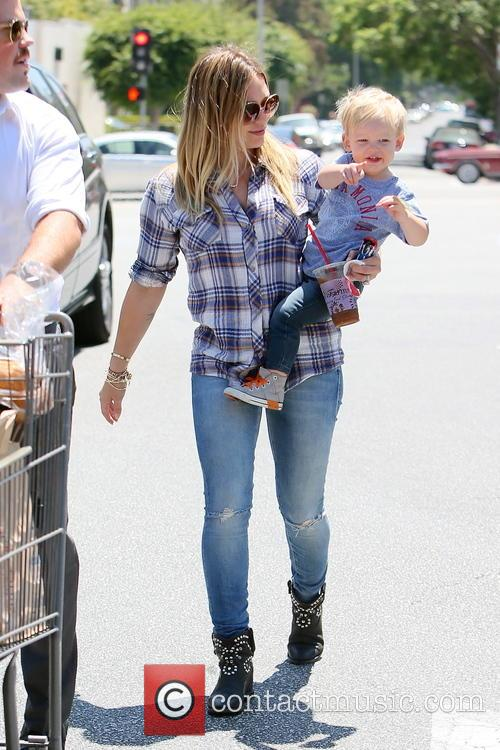 Hilary Duff and Luca Duff 8