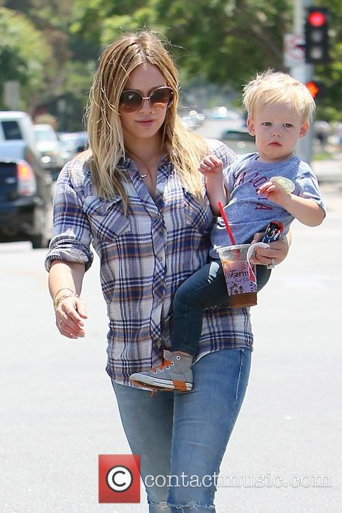 Hilary Duff and Luca Duff 9