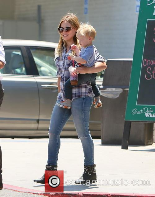 Hilary Duff and Luca Duff 10