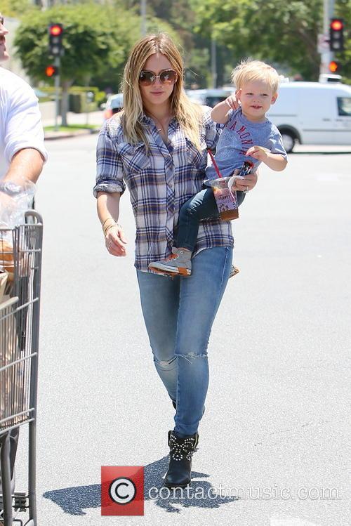 Hilary Duff and Luca Duff 9