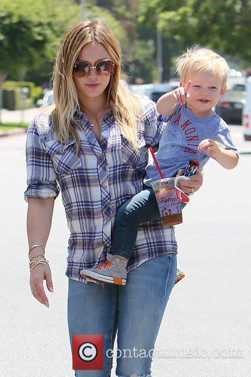 Hilary Duff and Luca Duff 10