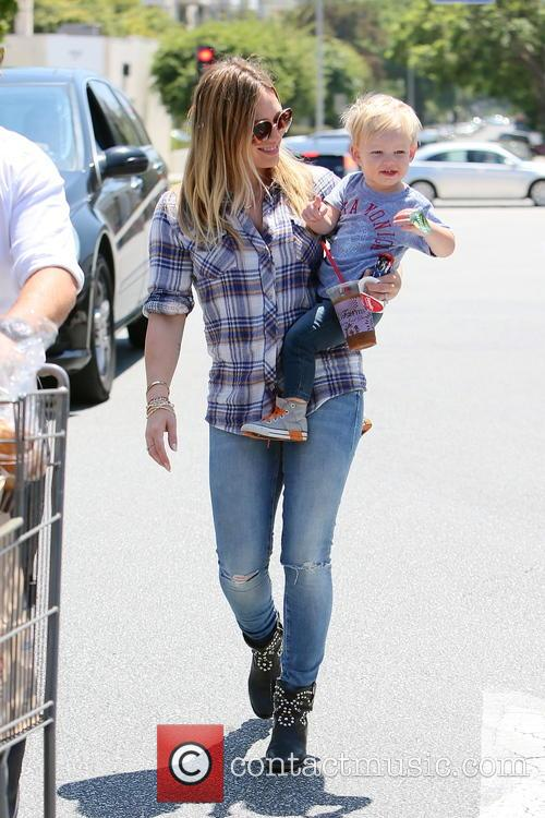 Hilary Duff and Luca Duff 1
