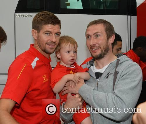 Steven Gerrard and Timmy Sheehan 10