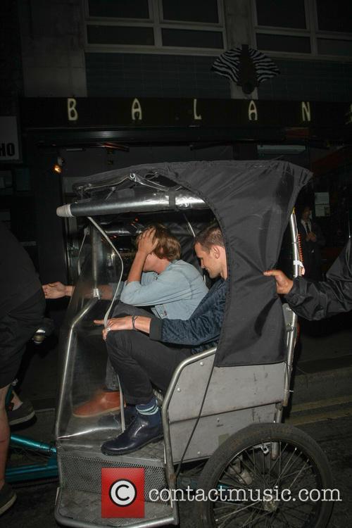 Matt Smith Takes Rickshaw Home
