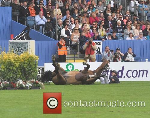 Rossanna Davison at the Dublin Horse Show RDS