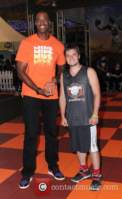 Josh Hutcherson and Jason Collins 7