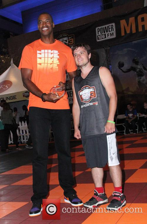 Josh Hutcherson and Jason Collins 11