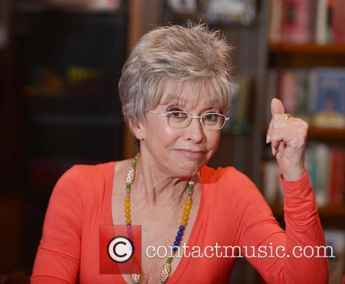 Rita Moreno greets fans and signs copies of...