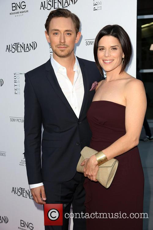 JJ Feild, Neve Campbell, ArcLight Hollywood