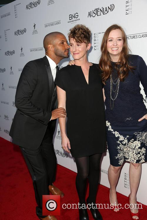 Ricky Whittle, Jerusha Hess and Shannon Hale 3