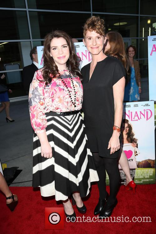 Stephenie Meyer and Jerusha Hess 6