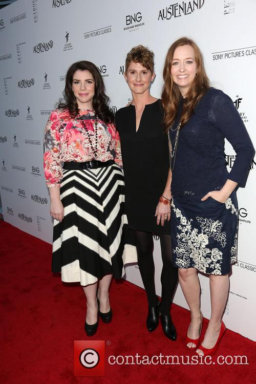 Stephenie Meyer, Jerusha Hess and Shannon Hale 7