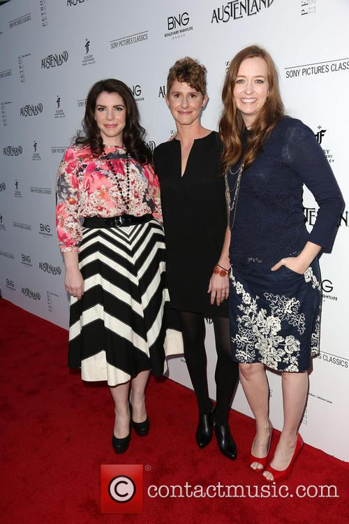 Stephenie Meyer, Jerusha Hess and Shannon Hale 8