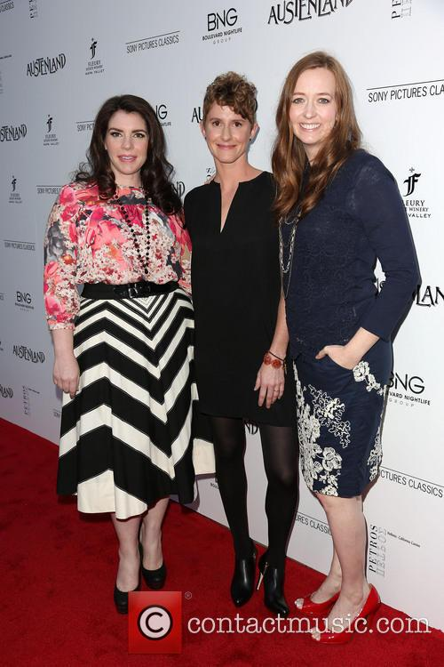 Stephenie Meyer, Jerusha Hess and Shannon Hale 9