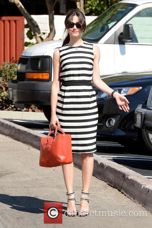 Emmy Rossum Runs Errands in Brentwood