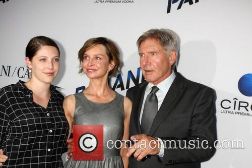 Georgia Ford, Calista Flockhart and Harrison Ford 3