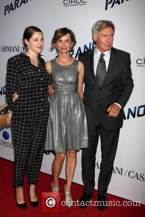 Harrison Ford, Calista Flockhart and Georgia Ford 5